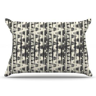 Amanda Lane Cream Abstract Pillow Case