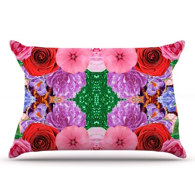 Vasare Nar Kaleidoscopic Flowers Pillow Case