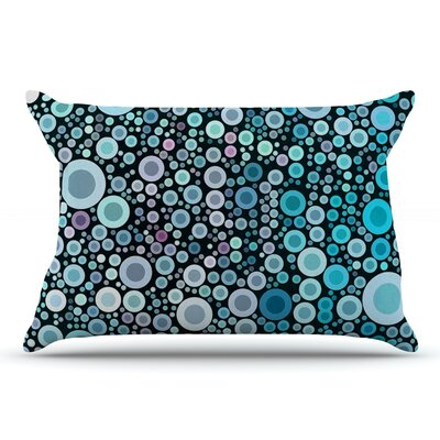 Sylvia Cook Aquatic Circles Pillow Case