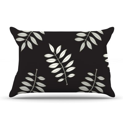 Laurie Baars Pagoda Leaf Floral Illustration Pillow Case
