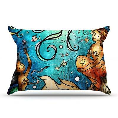 Mandie Manzano Under The Sea Mermaids Pillow Case