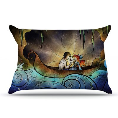 Mandie Manzano Something About Her Mermaid Pillow Case