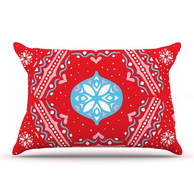 Miranda Mol Snow Joy Red Pillow Case