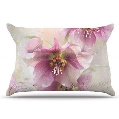 Sylvia Cook Hellabore Petals Pillow Case