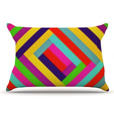 Trebam Nakriv Rainbow Abstract Pillow Case
