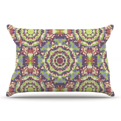 Allison Soupcoff Plum Lace Pillow Case