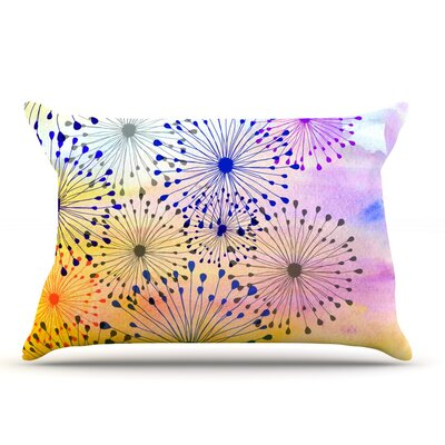 Sreetama Ray Bursting Blossoms Pillow Case