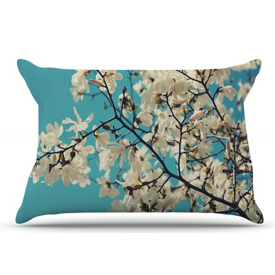 Sylvia Cook White Magnolias Pillow Case