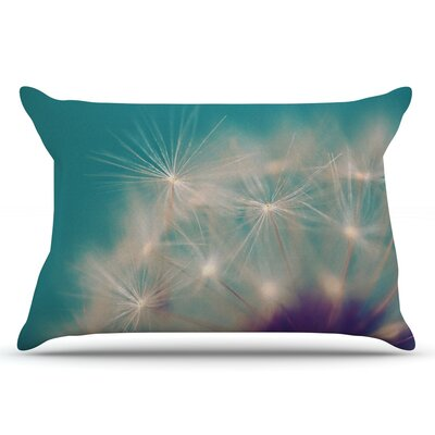 Sylvia Cook Dandelion Seedhead Pillow Case