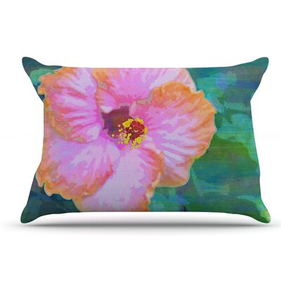 Sylvia Cook Hibiscus Pillow Case