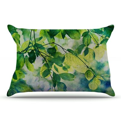 Sylvia Cook Leaves Pillow Case
