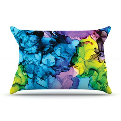 Claire Day Mermaids Paint Pillow Case