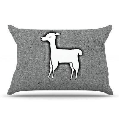 Monika Strigel Llama One Pillow Case