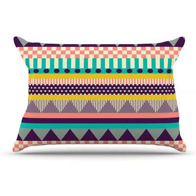Louise Machado Decorative Stripes Pillow Case