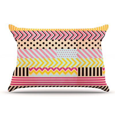 Louise Machado Decorative Tape Pillow Case