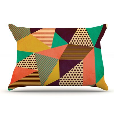 Louise Machado Geometric Love Ii Pillow Case