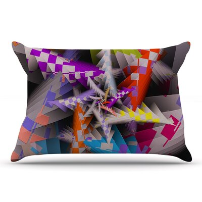 Michael Sussna 'Sticker Thicket' Pillow Case
