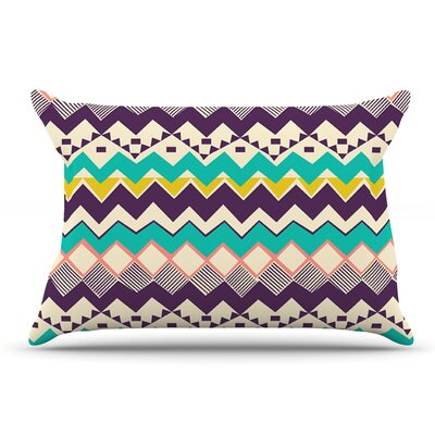 Louise Machado Ethnic Color Pillow Case