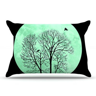 Micah Sager 'Perch' Circle Pillow Case
