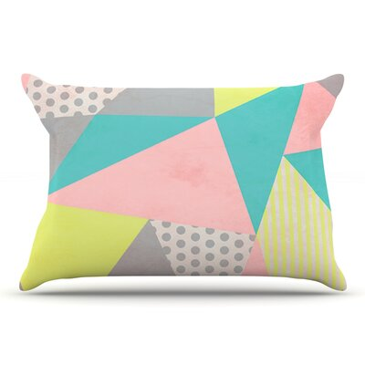 Louise Machado Geometric Pastel Pillow Case