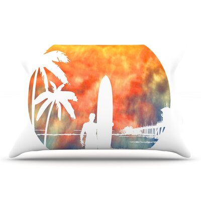 Micah Sager Waiting Pillow Case