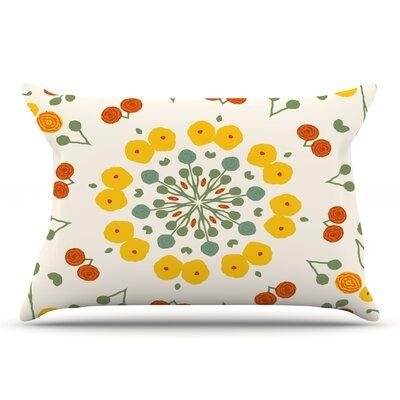 Laura Nicholson 'Ranunculas' Floral Pillow Case