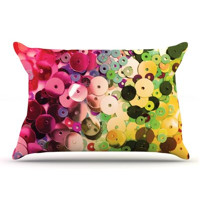Louise Machado Spots Sparkle Pillow Case