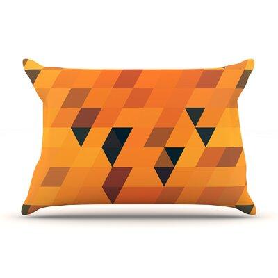 Danny Ivan Gold Pillow Case Color: Gold