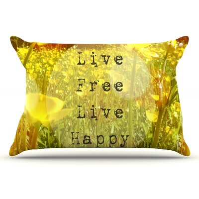 Alison Coxon Live Free Pillow Case