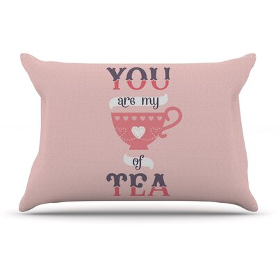 Daisy Beatrice My Cup Of Tea Pillow Case