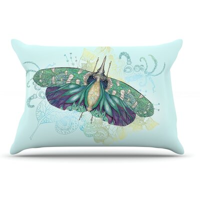 Catherine Holcombe Deco Moth Pillow Case