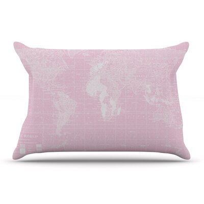 Catherine Holcombe Her World Pillow Case
