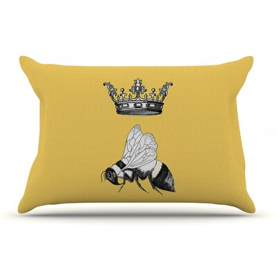 Catherine Holcombe 'Queen Bee' Canary Pillow Case