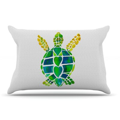 Catherine Holcombe 'Turtle Love' Pillow Case