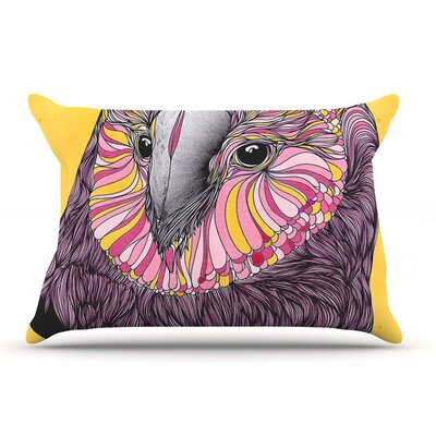 Danny Ivan Lovely Owl Pillow Case