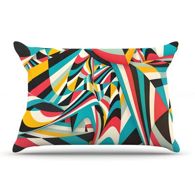 Danny Ivan DonT Come Close Abstract Pillow Case