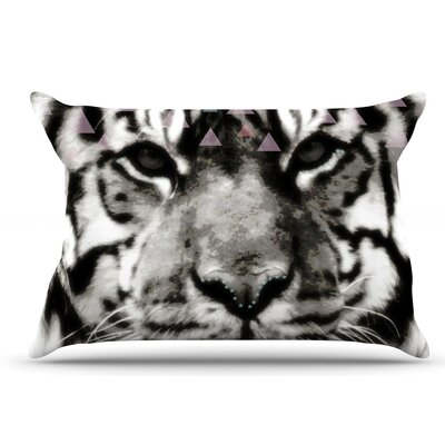 Suzanne Carter Tiger Face Animal Pillow Case