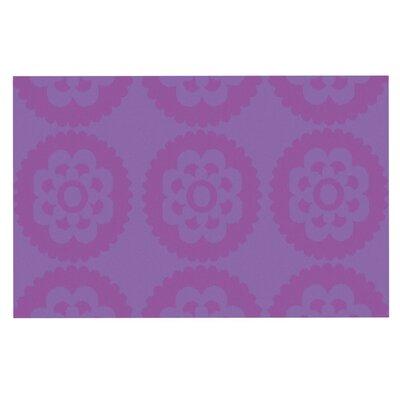 Nicole Ketchum Moroccan Doormat Color: Lilac
