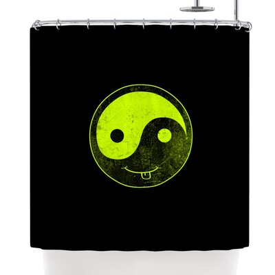 Frederic Levy-Hadida Ying Yang Shower Curtain
