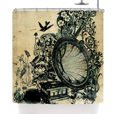 Frederic Levy-Hadida Sound of Nature Shower Curtain