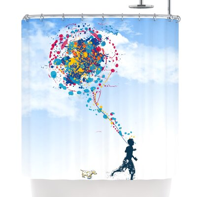 Frederic Levy-Hadida Child Creation Chronicle Shower Curtain