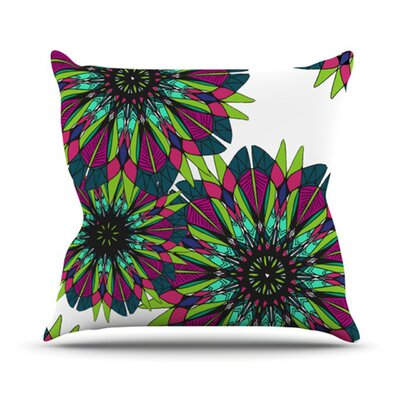 Bright Throw Pillow Size: 16 H x 16 W