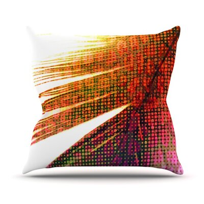 Feather Pop Throw Pillow Size: 18 H x 18 W
