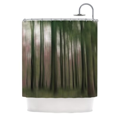 Forest Blur Shower Curtain