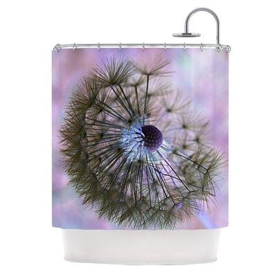Dandelion Clock Shower Curtain