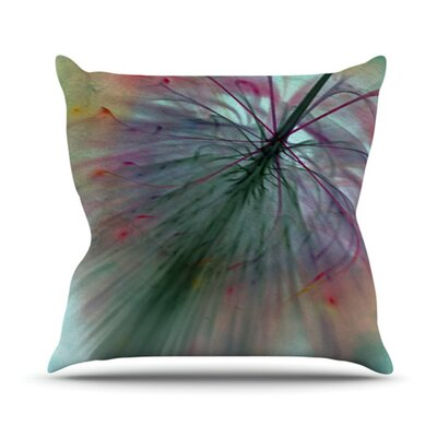 Fleur Throw Pillow Size: 16 H x 16 W