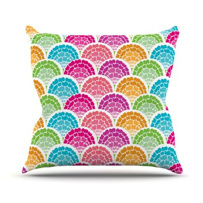 Rina Throw Pillow Size: 18 H x 18 W
