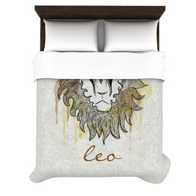 Leo by Belinda Gillies Woven Duvet Cover Size: King/California King