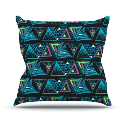 Its Complicated Throw Pillow Size: 18 H x 18 W