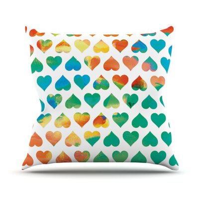 Be Mine Throw Pillow Size: 18 H x 18 W